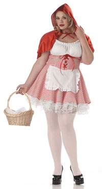 Plus Size Red Riding Hood Kostüm - Little Red Riding Hood Kostüme