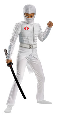 Light Up Muskel Storm Shadow Kinder Kostüm - G.I. Joe Kostüme