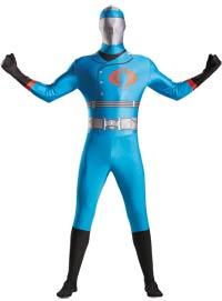 Cobra Commander Body Adult Kostüm - G.I. Joe Kostüme