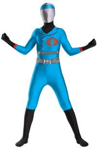 Cobra Commander Bodysuit Teen Kostüm - Teenage Kostüme