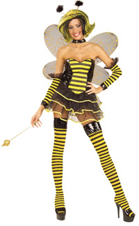 Queen Bee Plus Size Kostüm - Bumble Bee Kostüme