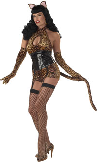 Sexy Bettie Page Katze Kostüm - Cat Costumes
