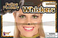 Feline Fantasy Leopard Whiskers - Cat Costumes