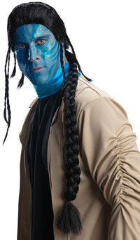 Jake Sully Wig - Avatar Kostüme