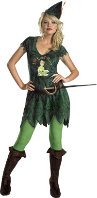 Sassy Peter Pan Costume - Halloween Costumes
