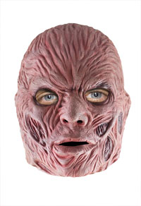 Deluxe Latex Freddy Krueger Maske - Nightmare On Elm Street Kostüme