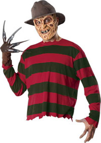 Scary Adult Freddy Set - A Nightmare On Elm Street Kostüme