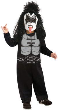 Kleinkind KISS Gene Simmons The Demon Kinder Kostüm - KISS Kostüme