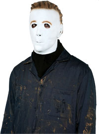Adult Michael Myers Maske - Halloween Film Zubehör