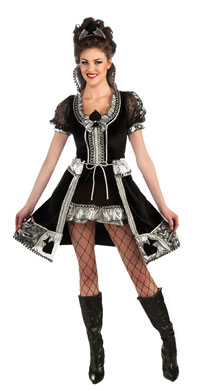 Queen Of Spades Adult Costume - Sexy Kostüme