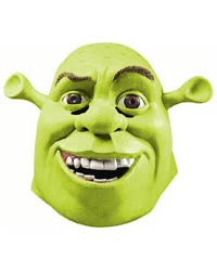Deluxe Adult Shrek Kostüm Maske - authentisches Shrek Kostüme