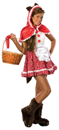Teen Little Red Riding Hood Kostüm - Teen Kostüme